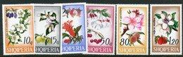 ALBANIA 1969 Tree Blossoms MNH / **.  Michel 1362-67 - Albanie