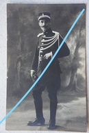 Photo GENDARME RIJKSWACHT Gendarmerie Portrait Circa 1935 - Professions