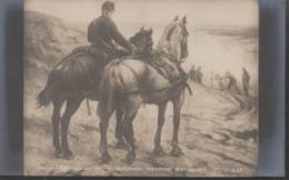 SALON 1901 __ EXERCICES D'ARTILLERIE   Par   E.L.  BORCHARD  (theme) - Peintures & Tableaux