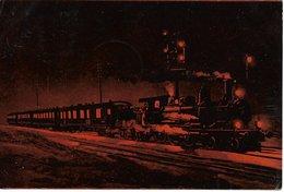 L170A024 - Train De Nuit Roulant à Toute Vapeur - WB - Eisenbahnen