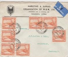 Chypre Lettre Pour L'Allemagne 1951 - Lettres & Documents
