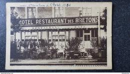CPA RENNES 35 Ile Et Vilaine HOTEL RESTAURANT Des BRETONS Café IRIS CADIOU - Rennes