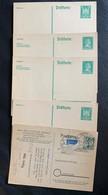 9835 - Lot 5 Entiers Postaux - Allemagne
