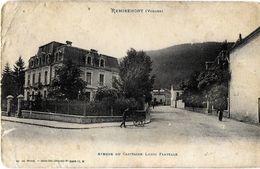 REMIREMONT 88 VOSGES AVENUE DU CAPITAINE LOUIS FLAYELLE EDIT. WEICK - Remiremont