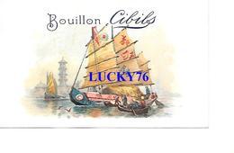 Chromo Cibils Bouillon Van Geetruyen & Cie  (trace De Papier Collé Au Verso Voir Scanne) - Other