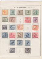 Kleine Verzameling Belgisch Congo / Belge 1918 - 1924 - Congo Belge