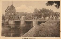 HOMBEEK - De Zennebrug Met Veel Volk - Uitg. L. Van Thienen - Rond 1939 - Malines