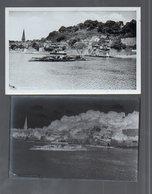 Y14933/  Lauenburg Fähre AK + Negativ Ca.1955 - Germania