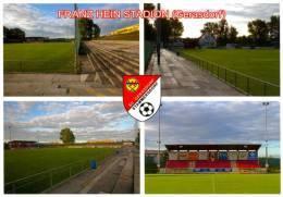 AK Franz-Hein-Stadion Postkarte SV Gerasdorf-Stammersdorf Wien Österreich Football Stadium Groun Stade Austria - Fussball