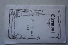 Plaquette CLERMONT Strée Walcourt Beaumont Histoire Photos Cartes Postales - België