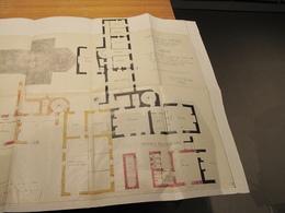 SAINT POL DE LEON - PLAN DE LA MAISON DES VIEUX PRETRES - Dressé En 1863 Par Archi De Quimper Bigoz Voir Scan - Architecture