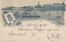 Puglia - Brindisi - Un Saluto Da Brindisi (litografia) - - Brindisi