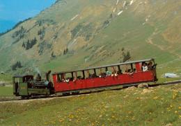 AK Eisenbahn Brienzer Rothornbahn Brienz-Rothorn-Bahn BRB Planalp Schweiz SUI Zahnradbahn Chemin De Fer à Crémaillère - Eisenbahnen
