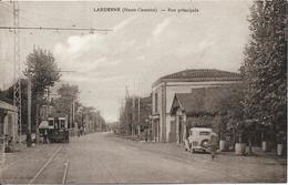 LARDENNE Rue Principale.Tramway - Frankreich