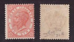 Regno, 2 Lire DLR Londra Del 1863 Nuovo * (Raybaudi)     -CK60 - 1861-78 Victor Emmanuel II