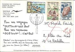 Pub  ''  OCETOUR  '' 17/12/74 Pour La Rochelle - Covers & Documents