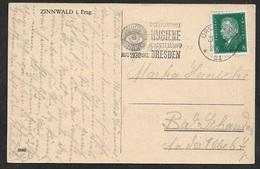 1930  - GERMANY  - PC - HYGIENE HYGIÈNE EXHIBITION - EYE AUGE  ŒIL - Medizin