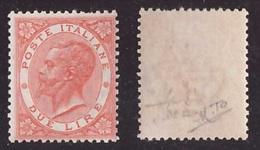 Regno, 2 Lire DLR Torino Del 1863 Nuovo ** (Raybaudi)     -CK61 - 1861-78 Victor Emmanuel II