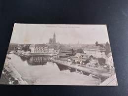 CPA (67)  Strasbourg. Vue Prise Du Quai Des Pêcheurs. Cachet Militaire.  (H1892). - Strasbourg