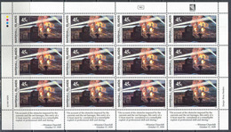 2140 ✅ Militaria WWII War Churchill Fleet Warships Battles 1989 Marshalls Sheet 12v ** - Militaria