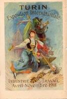 TURIN EXPOSITION INTERNATIONALE INDUSTRIE TRAVAIL AVRIL NOVEMBRE 1911 - Ausstellungen