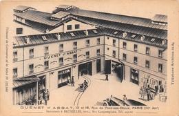 """¤¤  -   PARIS   -  Maison """" GUENET Et ABBAT """" 13 Et 15 Rue Du Pont-aux-Choux     -  ¤¤ - Arrondissement: 03"""