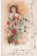 Fantaisie Femme - Feuillage D 'automne- (lot Pat 96/1) - Donne