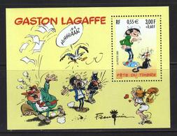 FRANCE Neuf**BLOC N°34 2001 Gaston Lagaffe Fête Du Timbre - Blocs & Feuillets