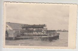 Schiffmühle - Ship Mill Floating Mill - River Sava PHOTO Postcard Molen Mühle Moulin - Watermolens