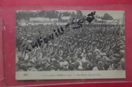 C P Le 14 Juillet A Paris En 1916 Nos Poilus Venus Du Front - Manovre
