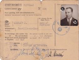Document Période De Guerre Laissez Passer D'un DOCTEUR En Médecine 1939/45 à FAUVILLE 76 - 1939-45