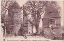 24. BRANTOME. Pigeonnier Et Pavillon Renaissance Construit François 1er - Brantome