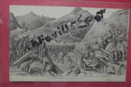 C P La Guerre Europeenne 1914-15 Combat Des Erbes Et Des Monténegrins Contre Les Autrichiens Pendant La Retraite - Manoeuvres