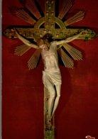 44 CALVAIRE DE PONTCHATEAU  LE CHRIST DU PERE MONTFORT DANS LA VIEILLE CHAPELLE - Pontchâteau