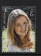 Prinses Elisabeth 18 Jaar - Used Stamps
