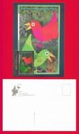 Portugal / Azoren  2003  Mi.Nr. 495 , EUROPA CEPT - Plakatkunst - Maximum Card - First Day  2003.05.05 - Europa-CEPT