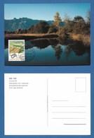 Liechtenstein  1999  Mi.Nr. 1190 , EUROPA CEPT - Natur- Und Nationalparks - Maximum Card - First Day  01.03.1999 - Europa-CEPT