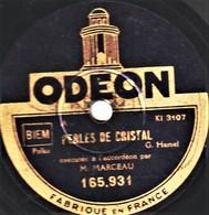 78 Trs  - ACCORDEON Vrtuose - V. MARCEAU - PERLES DE CRISTAL - VOLUPTA - 78 T - Disques Pour Gramophone
