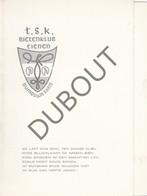 TIENEN T.S.K.Bietenklub Tienen Tiense Studentenclub  - Uitnodiging Dansavond (R592) - 1900 – 1949