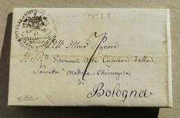 Prefilatelica Sutri-Bologna - 02/03/1835 Con Testo - 1. ...-1850 Prephilately
