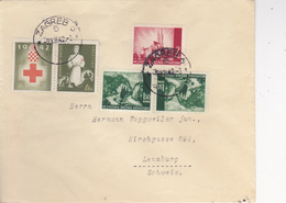 CROATIA  -  NDH  --   BRIEF  --  1942  --  ZAGREB Nach LENSBURG,  SCHWEIZ - Kroatien