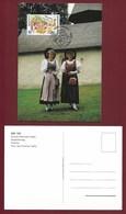 Liechtenstein  1998  Mi.Nr. 1165 , EUROPA CEPT - Nationale Feste Und Feiertage - Maximum Card - First Day  2.März 1998 - Europa-CEPT