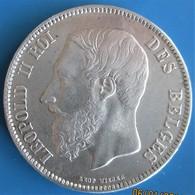 BELGIQUE, Léopold II,  5 Francs 1870, TTB - 1865-1909: Leopoldo II