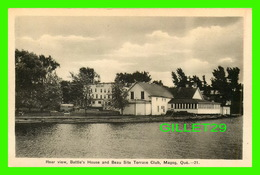 MAGOG, QUÉBEC - REAR VIEW, BATTLE'S HOUSE AND BEAU SITE TERRACE CLUB - PECO - - Andere