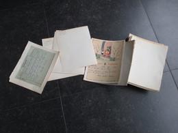 Lot De + De 300 Télégrammes Belge (M30) 1953 (11 Vues) De Xxx Vers Ciney - Faire-part