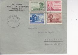 CROATIA  -  NDH  --   BRIEF  --  1943  --  VARAZDIN  LOCO  --  ODVJETNIK DRAGUTIN SUPANC - Kroatien