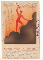 AK. Krampuskarte    Gruß Vom Krampus - Holidays & Celebrations