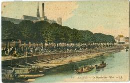 Amiens; Le Marché Sur L'Eau - Non Voyagé. (LL.) - Amiens