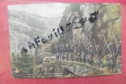 C P En Guerre Section De Reconnaissance Couleur - Manovre