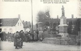 62 ST JOSSE SUR MER LE MONUMENT AUX ENFANTS DE ST JOSSE - Francia